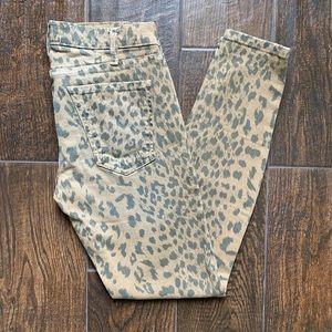 Current/Elliott The Stiletto Camel Leopard Cheetah
